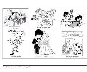 ilustrasi penyimpangan sosial