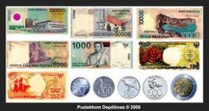 uang kertas dan uang logam Indonesia
