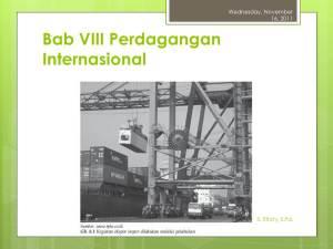Kegiatan Ekspor Impor di Pelabuhan